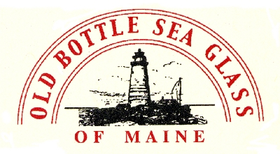 Old Bottle Sea Glass of Maine