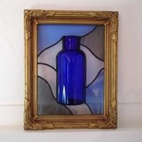Gigantor Vintage Bottle Glass Art